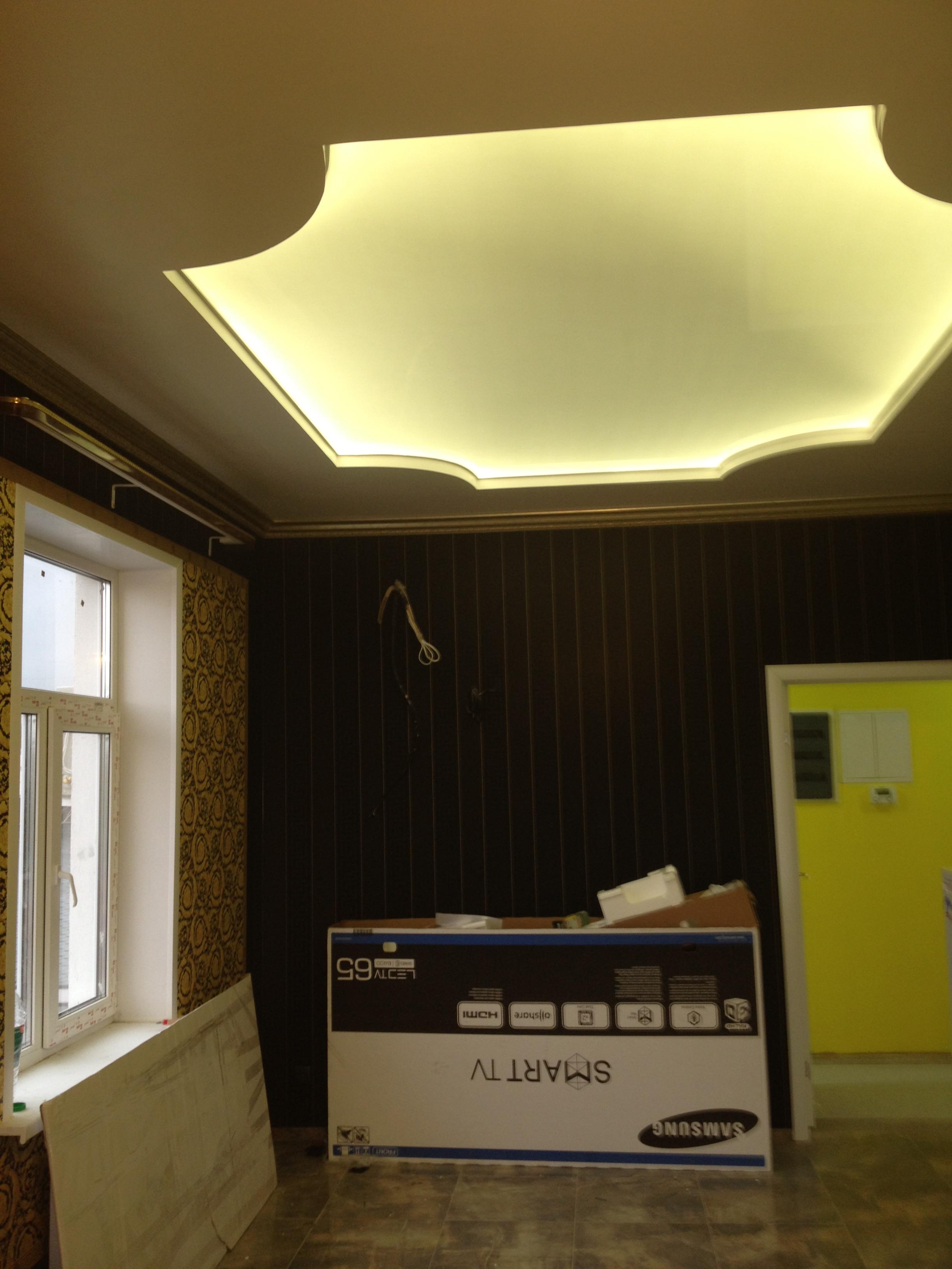 Как сделать светящийся потолок